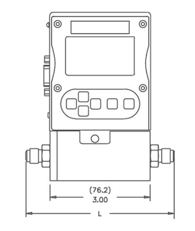 DMS-5 Вид спереди