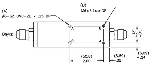 DMS-2 и DMS-6 Вид снизу
