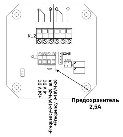 Электрическое подключение DWD