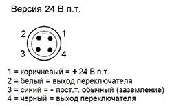 Схема быстрого разъединения (опция M-12)