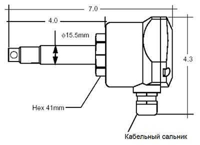 Габаритные размеры KAL-L