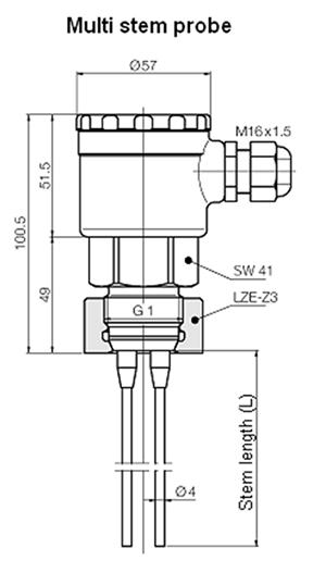LNK Multi stem probe