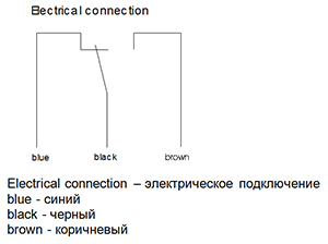 Электрическое подключение