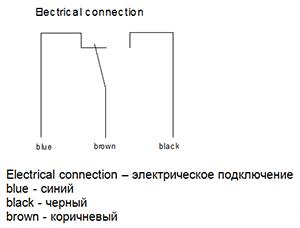 Электрическое подключение NEC