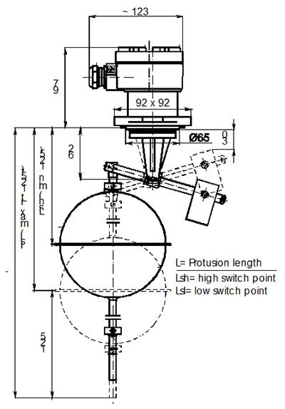 Настраиваемый гистерезис, установка сверху