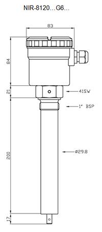 Габариты NIR-8120