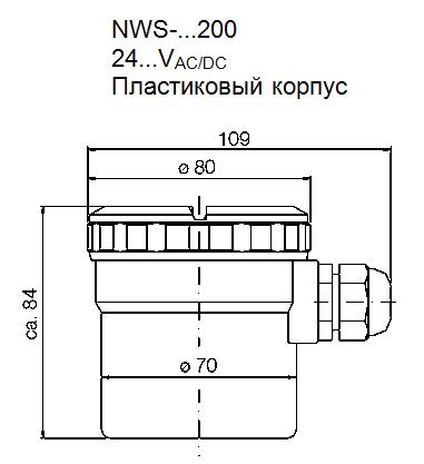 Габариты NWS-...200