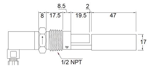 Габаритные размеры RFS-1200 N4
